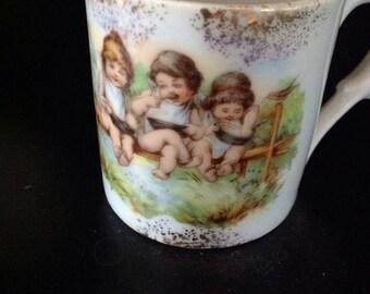 Vintage Child's Mug