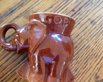 Frankoma 1974 Republican GOP Mug