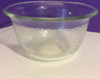 GE Textured Glass Mixing Bowl