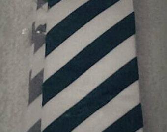 Black & White skinny tie