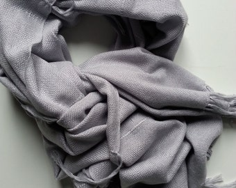 ONLY light grey SCARF