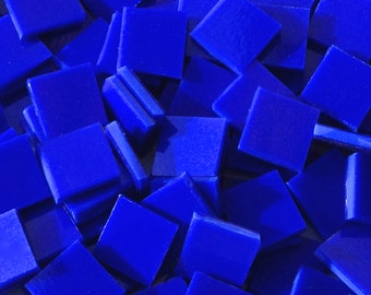 Lapis Stained Glass Mosaic Tiles