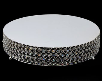 round crystal cake stand crystal decor crystal cake stand wedding cakes silver
