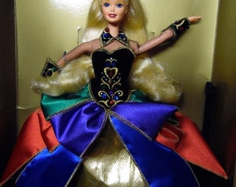 MATTEL MIDNIGHT Princess Barbie Doll Blonde Hair