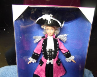 Barbie George Washington Doll FAO Schwarz 1996 American Beauties Collection Limited Edition
