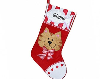 Purr-sonalized Cat Stocking