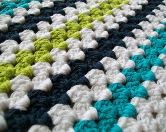 Granny Stripe Blanket Pattern