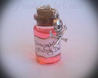 Flask draught of living death Bottlecharm Draught of living death