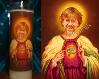 Saint Trey Anastasio Prayer Candle / Phish Prayer Candle