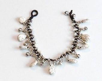 Jewel for Dog made in France. The Bijou Tinou-Boho collar grey