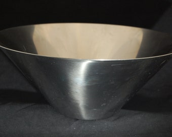 70's Gense Fruit Bowl Stainless Steel made in Sweden
