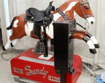 Sandy Coin Operated Horse