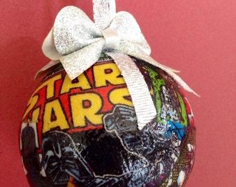 Star Wars Fabric Christmas Ornament