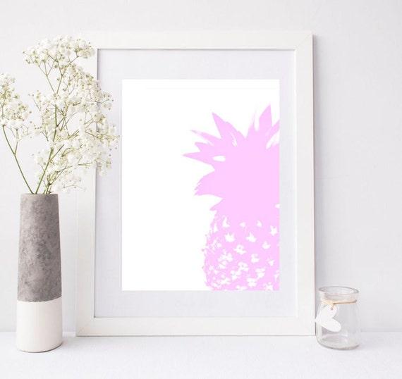 Affiche À Télécharger Affiche Ananas Affiche Scandinave