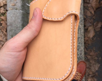Big bad leather wallet