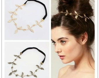 Goddess Headband in Antique Gold