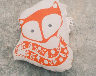 LIMITED EDITION Fox comforter cushion