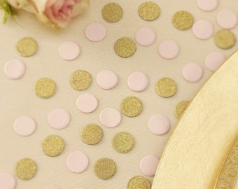 Table Confetti - Gold & Pink Glitter