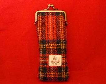 Handmade Harris Tweed Spectacle Case