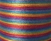 "Six Strand Embroidery Floss | 127 - ""Bifröst"" | Hand-Dyed | 100% Cotton | 9 yds"
