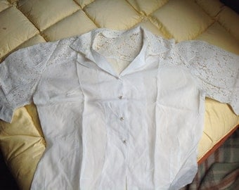 Beautiful lace summer shirt