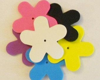 Foam flowers, small, DIY Bird Toy (12 pcs.)
