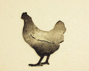 Chicken art wall mount/chicken/