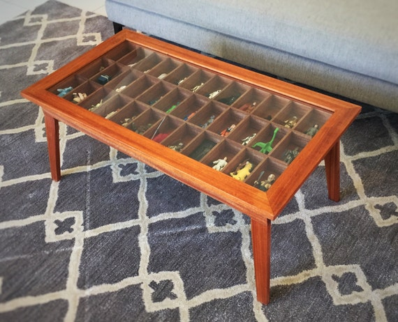 Handmade mahogony modern style shadow box coffee table for for Shallow coffee table