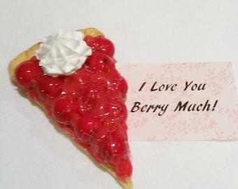Valentine's gift, Slice of Berry pie!
