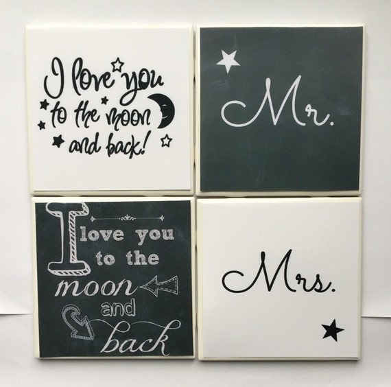 I Love You Quotes: Items Similar To Handmade Customizable I Love You To The