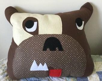 Big Bull Dog Pillow