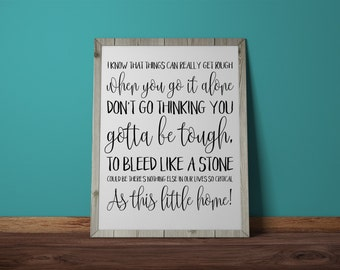 Simple Song, The Shins, typography, lyrics, Wall Print, Lyric Art, Instant Download
