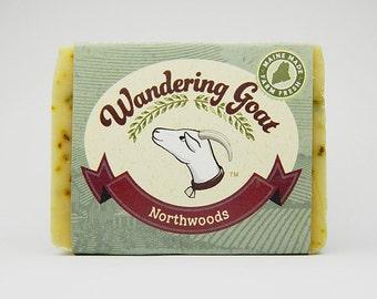 Northwoods Balsam & Spruce Goat Milk Soap