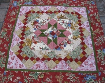 Colonial look wall quilt