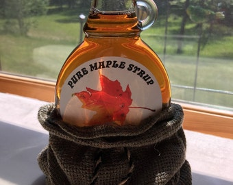 Maple Syrup...Pure & Organic...8oz...Made in Minnesota