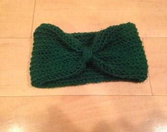 Knit loom earwarmer Etsy