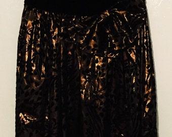 1980's strapless dress