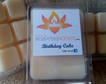 Birthday Cake  Scented Wax Melt/ Tarts/ Hand Poured