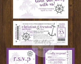 Cruise Wedding Invitations gangcraftnet