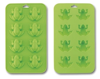 Passover Frog Ice Cube Trays, Frog Silicon Mold For Chocolates, Jello Jigglers, Soap or Candy