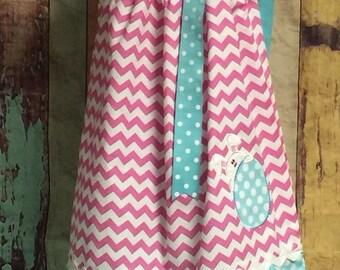 Pillow Case Dress, Easter Pillow Case Dress