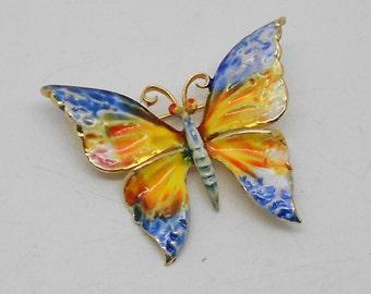 Vintage Weiss Butterfly Brooch