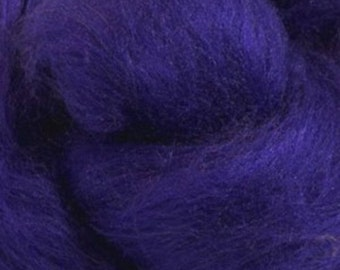 Tussah Silk Top One Ounce Color Florence For Felting or Spinning