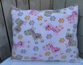 Baby Giraffes Bumpy Pillow!