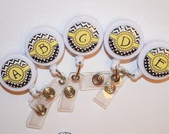 custom retractable id badge reel