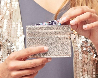 Personalised Metallic Card Holder