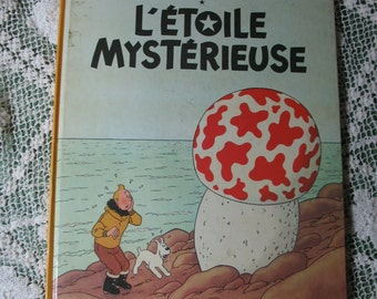 French edition tintin comic star mysterious edition published 1947 in Belgium by CASTERMAN in 1966.