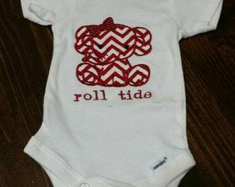 Roll Tide onesie