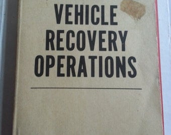 Army Vehicle Recovery Manual
