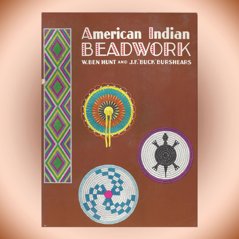 American indian beadwork 1996 softcover craft book from for What crafts did the blackfoot tribe make